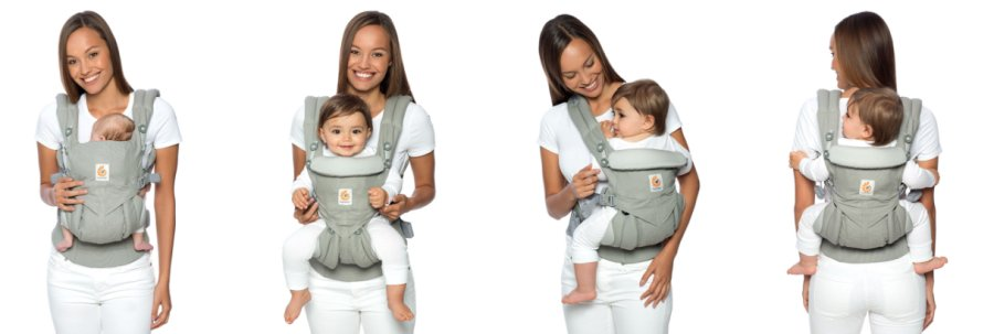 ways to wear baby bjorn