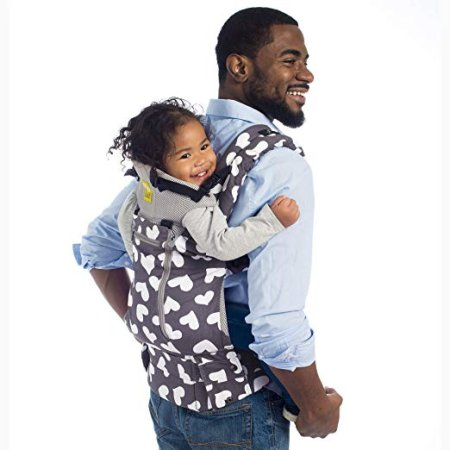 Lillebaby Complete All Seasons Baby Carrier - You can also wear it on your back