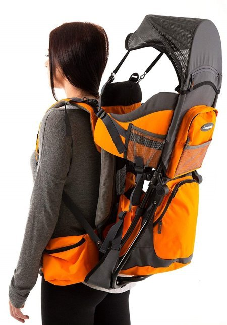 Luvdbaby Baby Backpack Carrier For Hiking - Mesh sun roof included