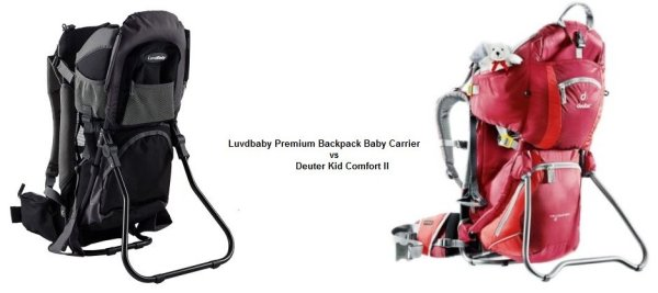 Luvdbaby Baby Carrier vs Deuter Kid Comfort II