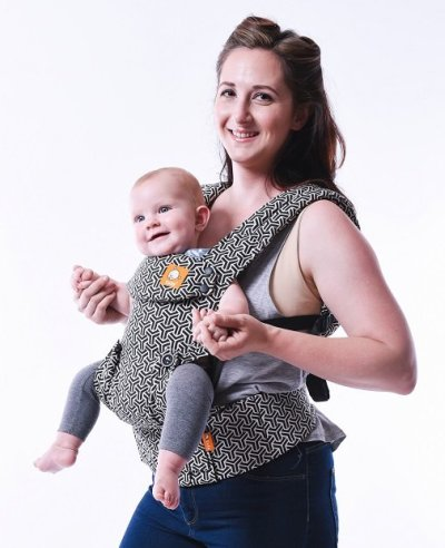 Baby Tula Explore Carrier - front carry forward facing