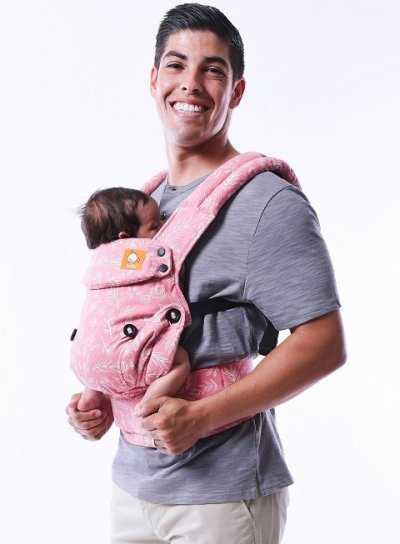 Baby Tula Explore Carrier - provides healthy M position for baby's legs
