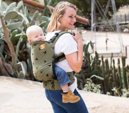 Baby Tula Toddler Carrier - one of the best carriers for toddlers