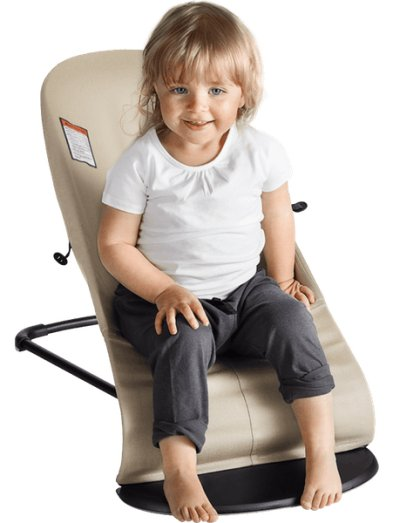 BabyBjorn Bouncer Balance Soft can serve as a toddler seat