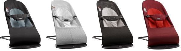 BabyBjorn Bouncer Balance Soft - different fabrics and color versions