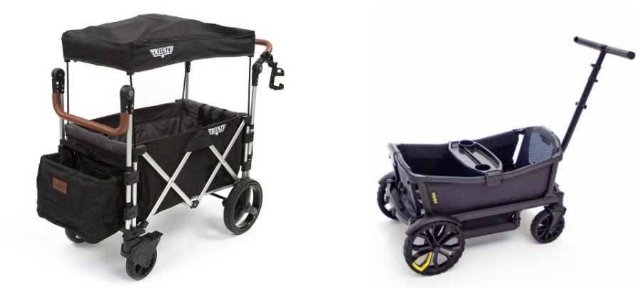 Best Stroller Wagon Combo - Keenz 7S and Veer Cruiser