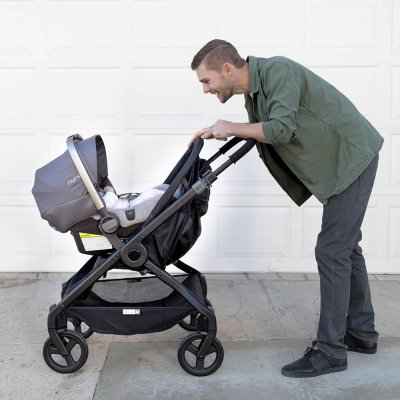 Ergobaby 180 Reversible Stroller with Nuna car seat