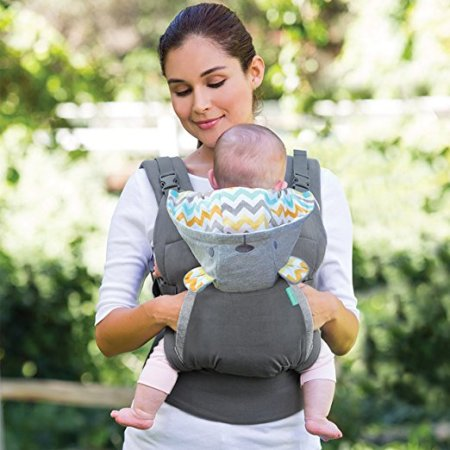 Infantino Cuddle Up - Toddler Carrier with pocket