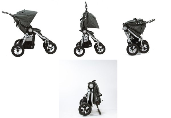 Bumbleride Indie Twin Double Stroller - Folding