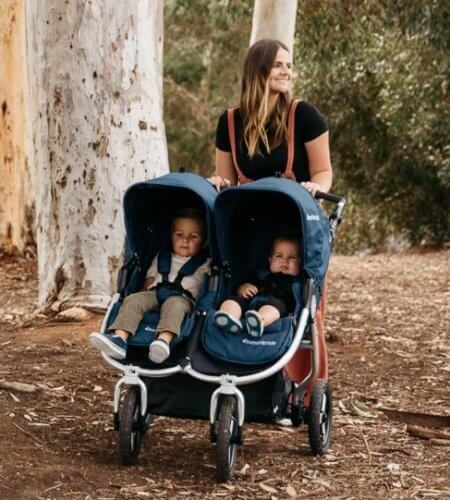 Bumbleride Indie Twin Double Stroller - Trully all-terrain stroller