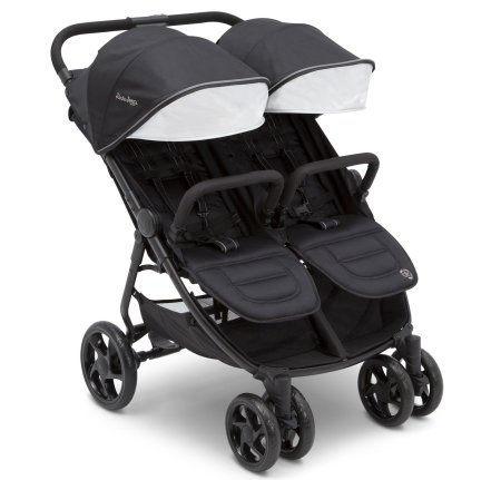 J is for Jeep Brand Destination Ultralight Side x Side Double Stroller