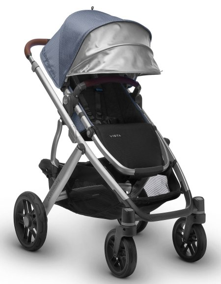 UPPAbaby VISTA - Generous canopy with pop out sun visor