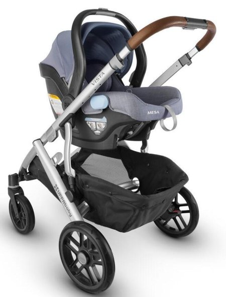 UPPAbaby VISTA travel system with MESA infant car seat