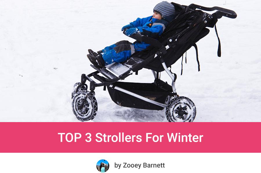 Лучшие детские коляски на зиму и снег