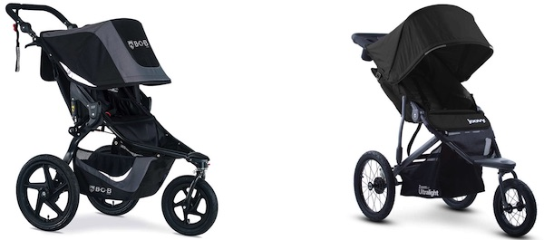Jogging Best strollers for snow - BOB Revolution Flex and Joovy Zoom 360 Ultralight