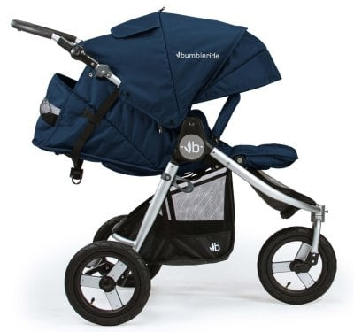 Bumbleride Indie Stroller - Full recline suitable for newborn
