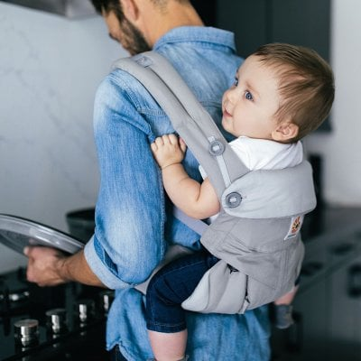 Ergobaby 360 Carrier allow you for back carrying