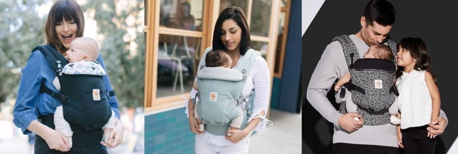 Ergobaby Adapt Carrier - Some of the best colors