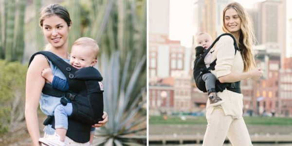 Ergobaby Adapt Carrier can be used up to 45 lbs