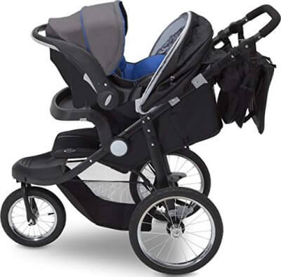 J is for Jeep Brand Cross-Country Sport Plus Jogger is compatible with some of the infant car seats