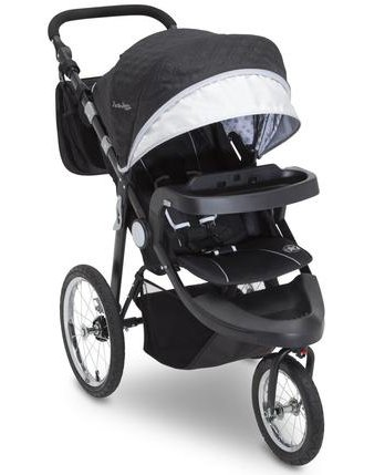 J is for Jeep Brand Cross-Country Sport Plus Jogger (top-rated jogging stroller 2019)