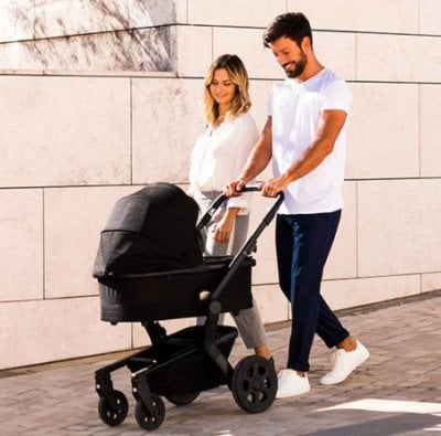 Joolz Hub stroller with bassinet