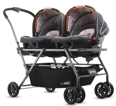 Joovy Twin Roo+ Side-by-side frame