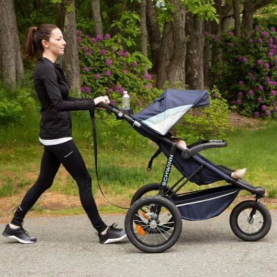 Schwinn Interval Jogging Stroller - Cheap jogger for fast walking and light jogging