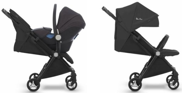 Silver Cross Jet - Compatibility with infant car seats and flat recline suitable from birth