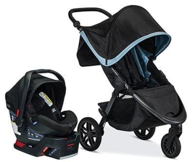 Britax B-Free B-Safe Ultra Travel System
