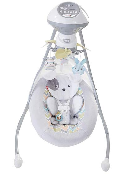 Fisher-Price Sweet Snugapuppy Baby Swing