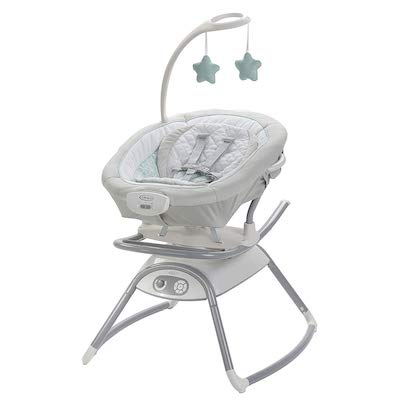Graco Duet Glide Gliding Swing with Portable Rocker