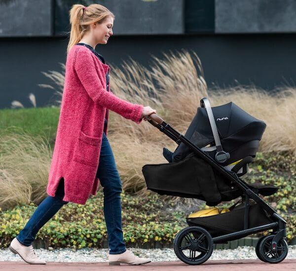 Nuna Tavo with Pipa Lite LX infant car seat