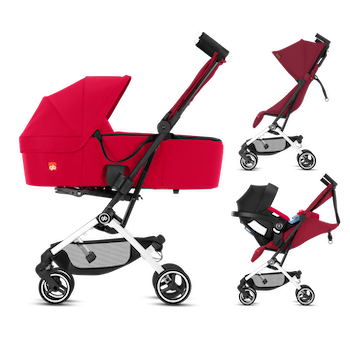 GB Pockit Plus All-City - 3-in-1 travel system