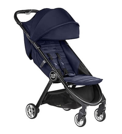 Baby Jogger City Tour 2 - Reclining seat and adjustable calf rest
