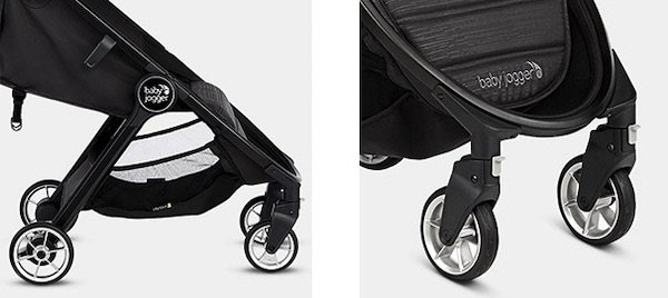 Baby Jogger City Tour 2 - wheels & storage basket