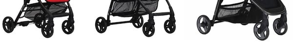 COmparison of ZOE Strollers wheels