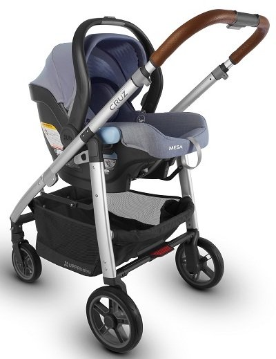 UPPAbaby CRUZ Travel System with Mesa infant car seat