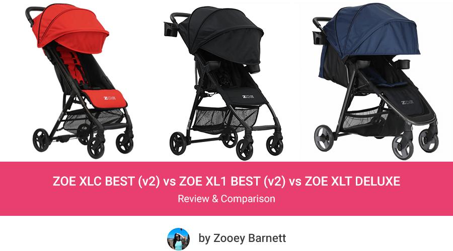 ZOE Strollers Comparison