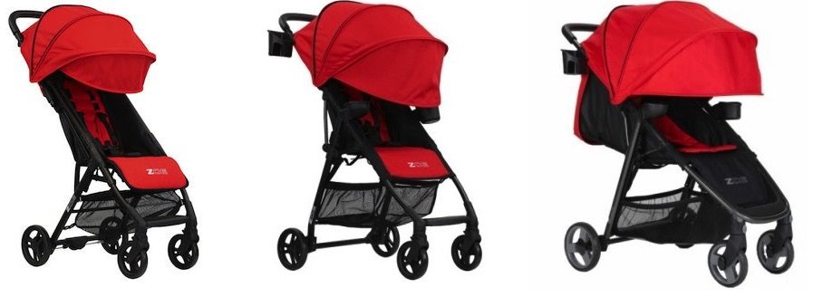 ZOE XLC BEST v2 is the smallest model, ZOE XL1 BEST v2 is a bit bigger, while the ZOE XLT DELUXE is a full-sized stroller