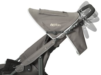 Special Tomato Jogger - Adjustable handlebar and canopy