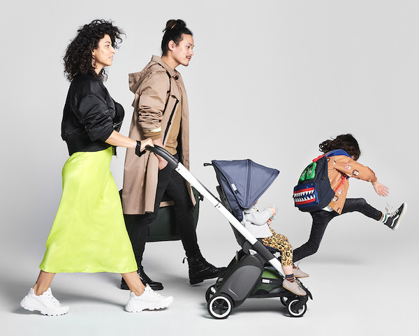 Bugaboo Ant - New lightweight stroller with truly upright position