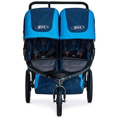 BOB Revolution Flex Duallie has roomy seats suitable for older children