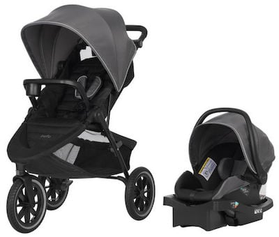 Evenflo Folio3 Stroll&Jog Travel System