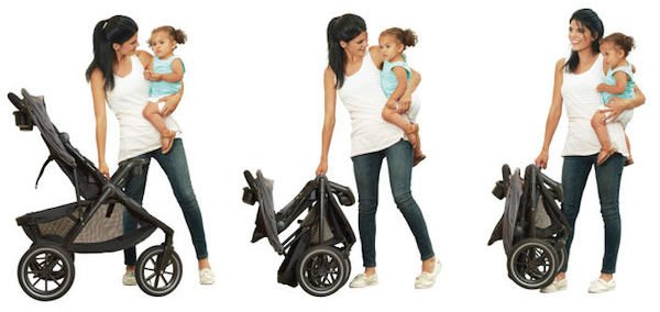 Evenflo Folio3 Travel System - One-hand fold