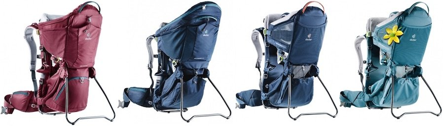 All versions of Deuter Kid Comfort carrier