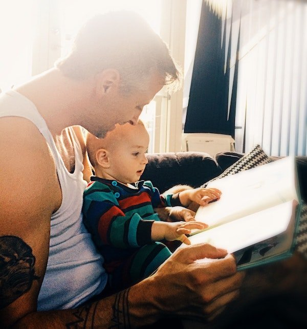 Reading to baby has a lot of benefits for baby's emotional and cognitive development