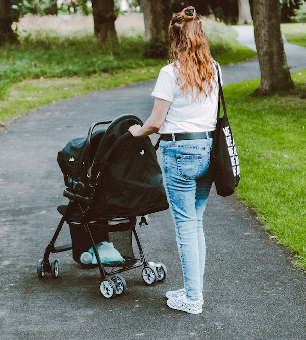 You can start your postpartum physical activity by going for walks with stroller
