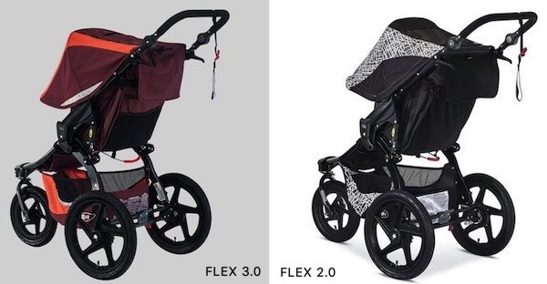 BOB Revolution FLEX 3.0 has large storage basket and 3 additional pockets on the back of the seat