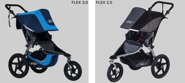 BOB Revolution FLEX 3.0 vs 2.0
